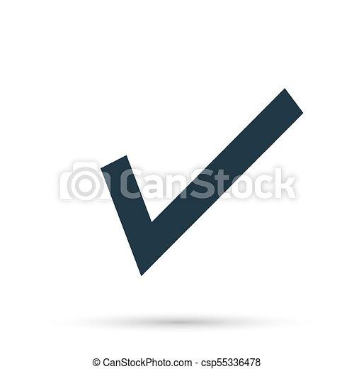 Black Check Mark Icon Tick Symbol In Black Color Vectors
