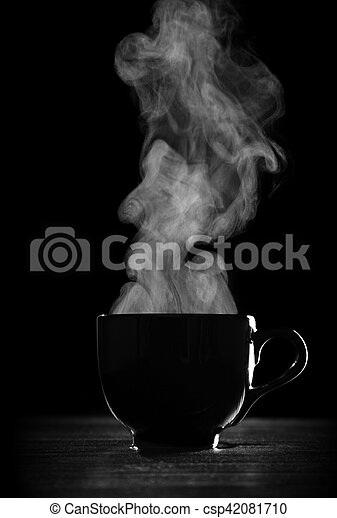 Black coffee cup - csp42081710