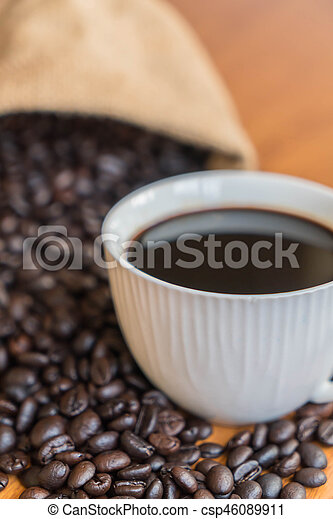 black coffee cup - csp46089911