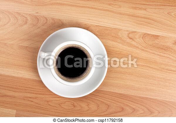 Black coffee cup - csp11792158