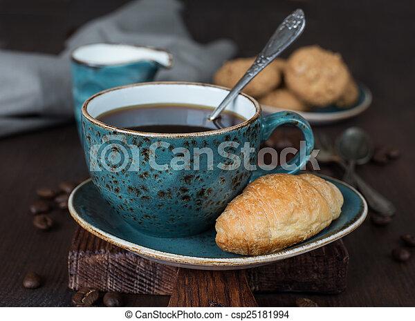 Black coffee - csp25181994