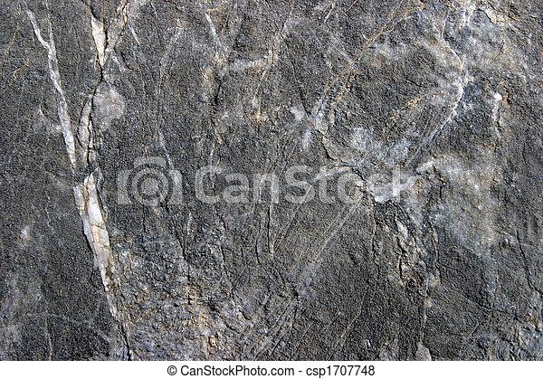Black composite stone wall - csp1707748
