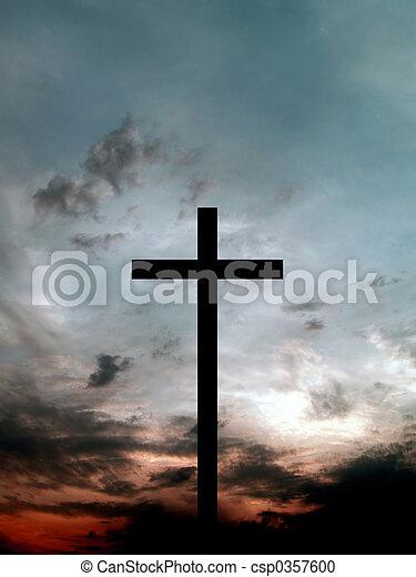 Black cross - csp0357600