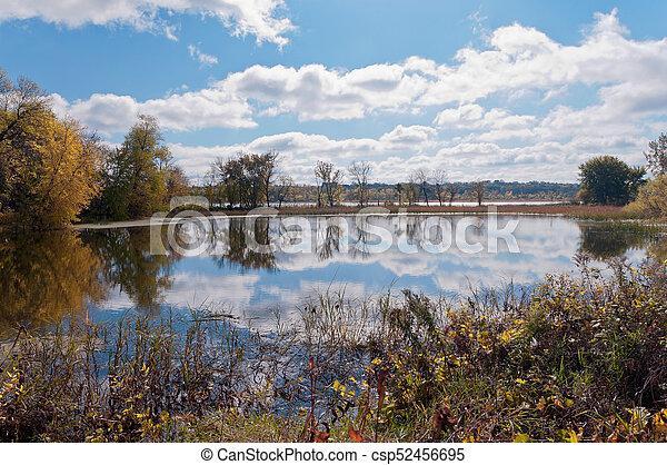 Black Dog Lake at Eagan Refuge - csp52456695