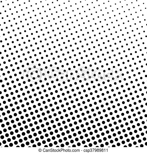 Black dots on a white background csp37989811