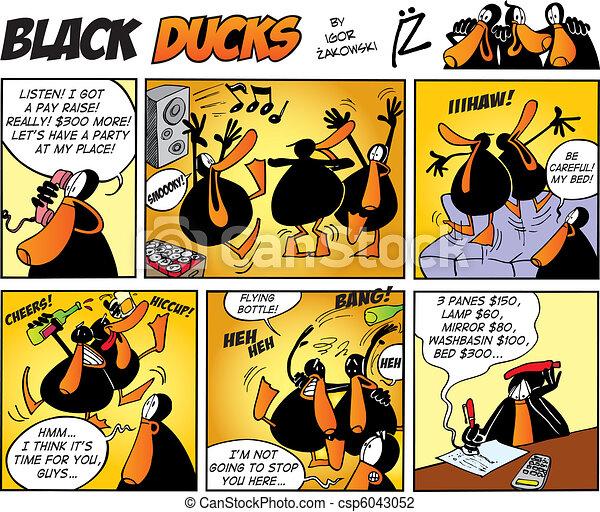 Black Ducks Comics episode 47 - csp6043052