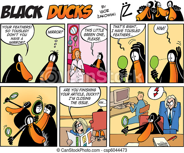 Black Ducks Comics episode 57 - csp6044473