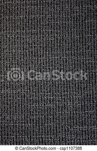 Black fabric background - csp1107388