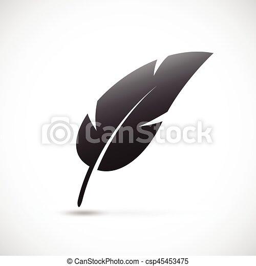 black feather - csp45453475