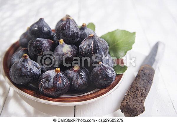 Black fig - csp29583279