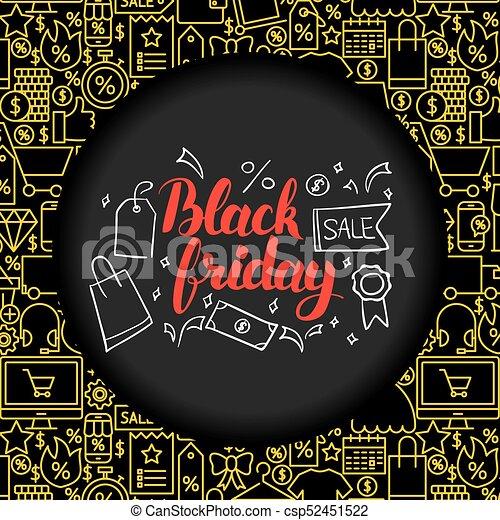Black Friday Poster - csp52451522