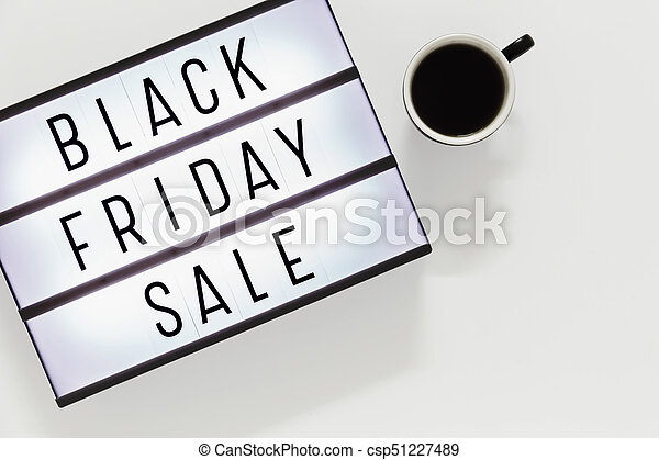 Black friday sale background - csp51227489