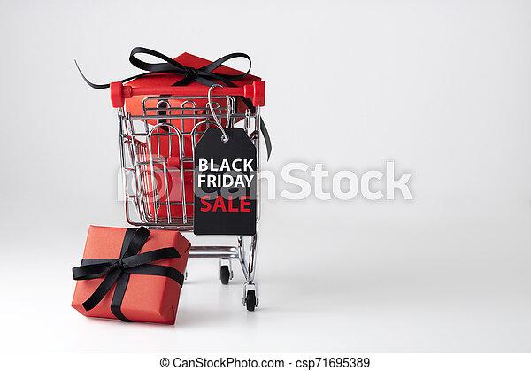 Black friday sale background - csp71695389