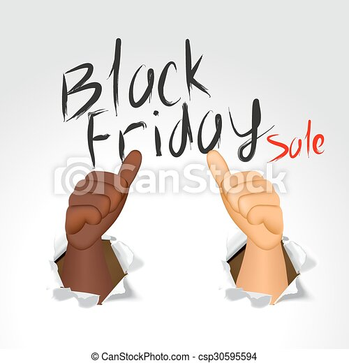 black friday sale - csp30595594