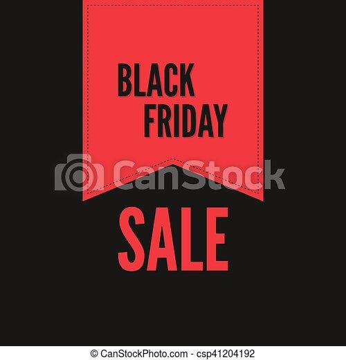 Black Friday sale. - csp41204192
