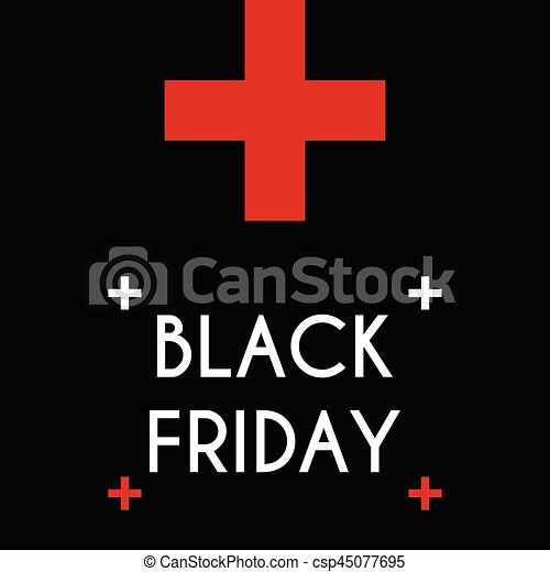 Black friday Sale on the black background. - csp45077695