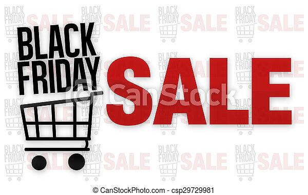 Black Friday Sale - csp29729981