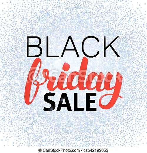 Black Friday Sale Poster - csp42199053