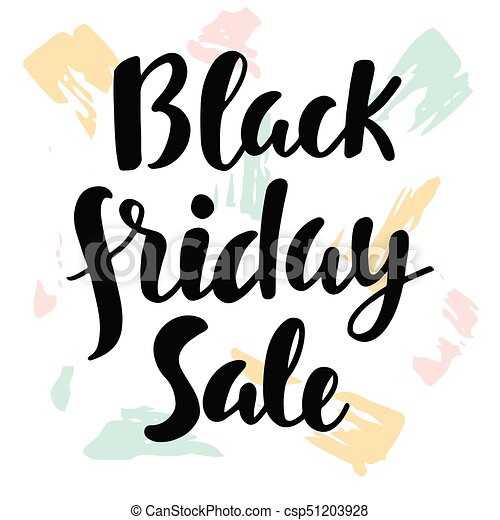 Black Friday Sale poster - csp51203928