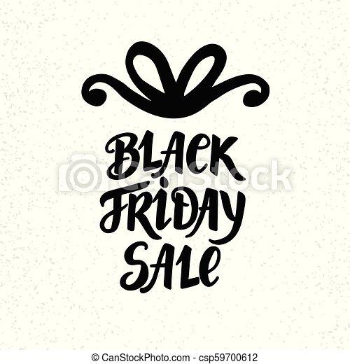Black Friday Sale poster - csp59700612