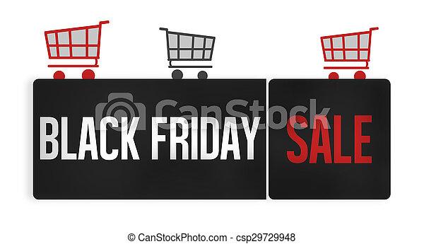Black Friday Sale - csp29729948