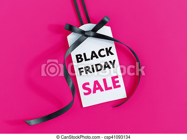 Black friday sale tag - csp41093134