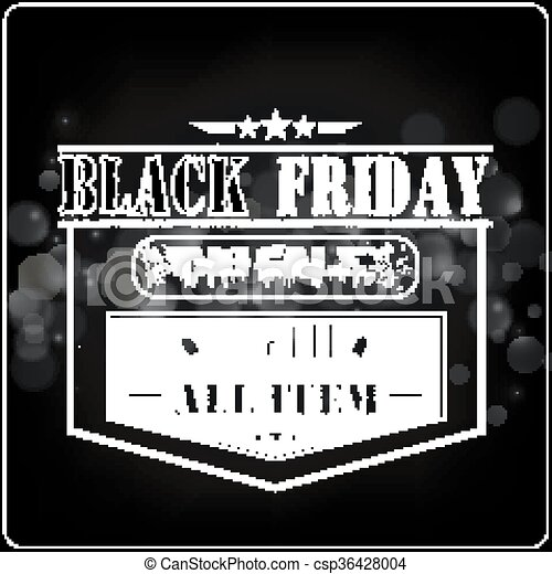 Black Friday sale  - csp36428004