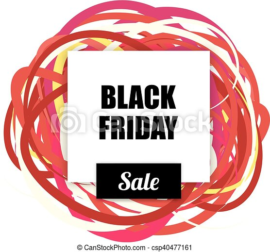 black friday salelabel with blank for text design and clip art rh canstockphoto ca black friday clipart free black friday clip art free bogo 1/2 off