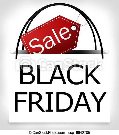 black friday shopping bag design black friday shopping bag stock rh canstockphoto com black friday clipart free black friday shopping clipart