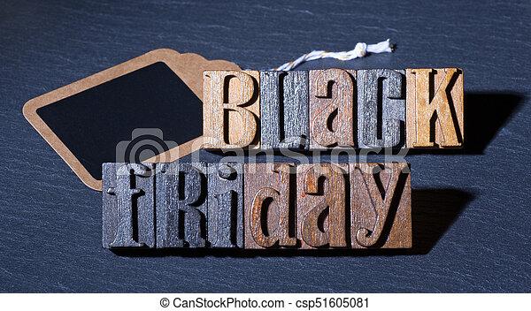 Black Friday Sign - csp51605081