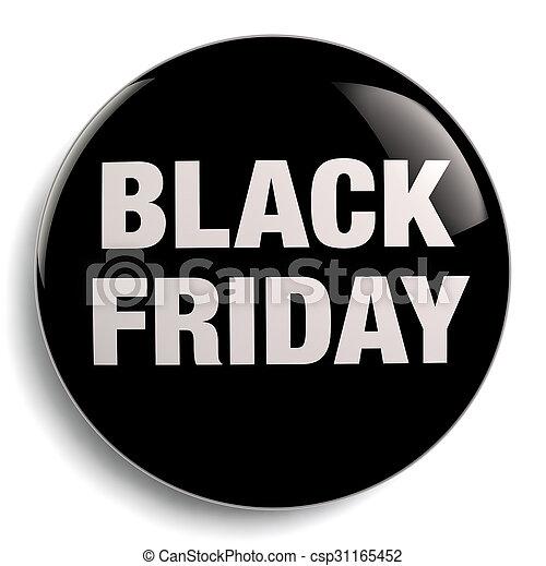 Black Friday Sign - csp31165452