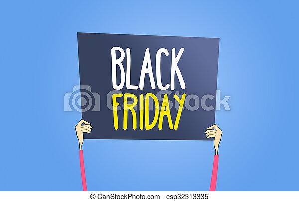 Black Friday sign - csp32313335