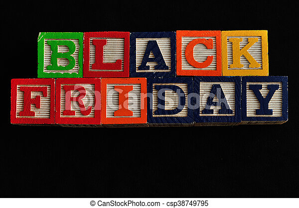 Black Friday - csp38749795