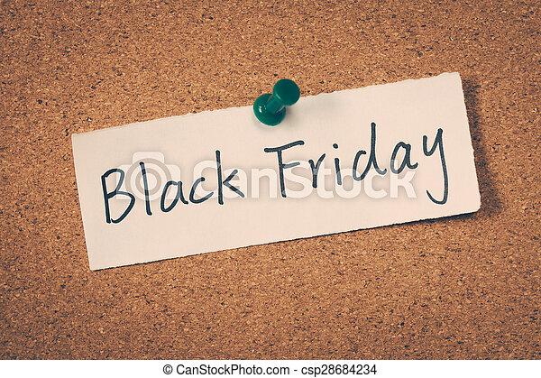 Black Friday - csp28684234