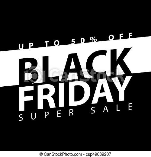 black friday super sale poster clearance mega discount flyer