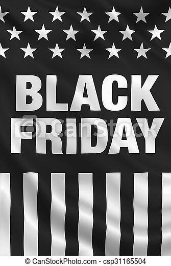 Black Friday USA - csp31165504