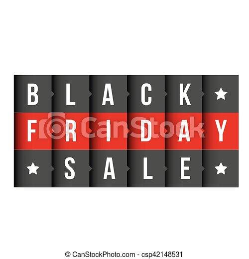 Black Friday vector lettering - csp42148531