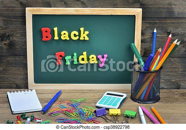 Black Friday word - csp38922798