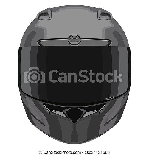 black front helmet black motorcycle helmet on a white Fireman Movers Clip Art Black Fireman Movers Clip Art Black