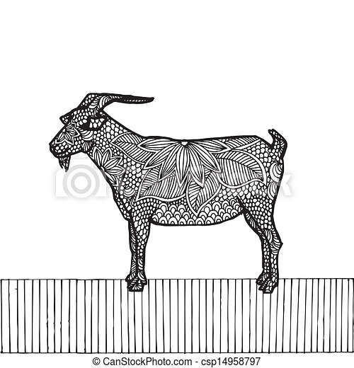 Black Goat- Chinese zodiac