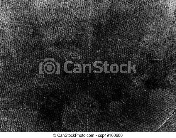 Old shabby and grunge black Paper background