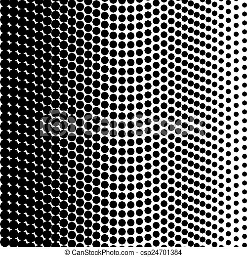 Black halftone texture - csp24701384