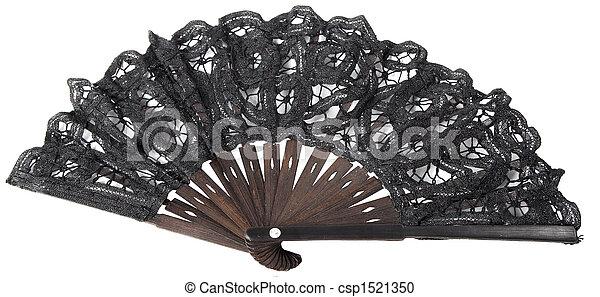 black hand fan - csp1521350