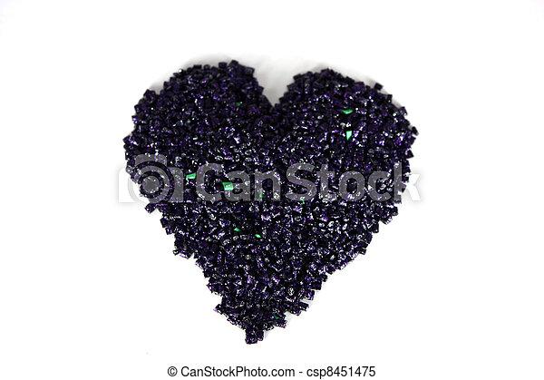 Black Heart - csp8451475
