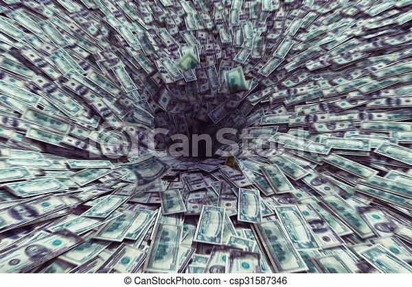 Black hole money - csp31587346