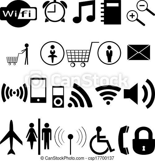 Black icons - csp17700137