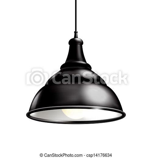 Black Lamp - csp14176634