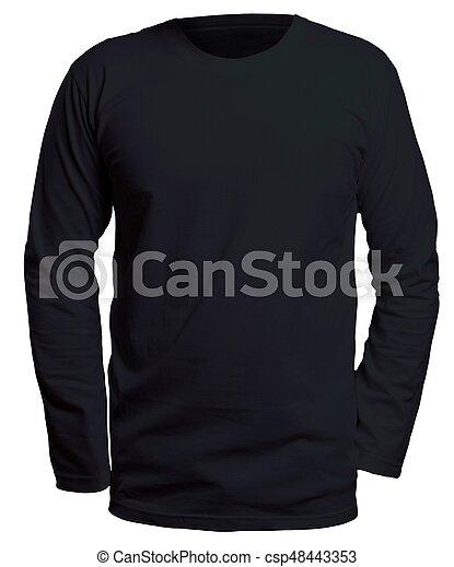 black long sleeve shirt mock up blank long sleve shirt mock up