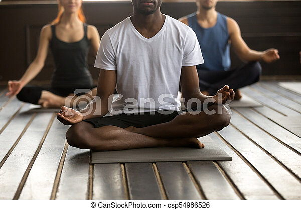 black man and a group of people in easy seat young black