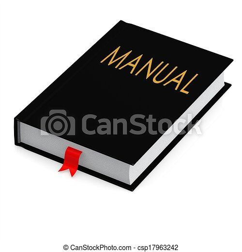 Black manual - csp17963242